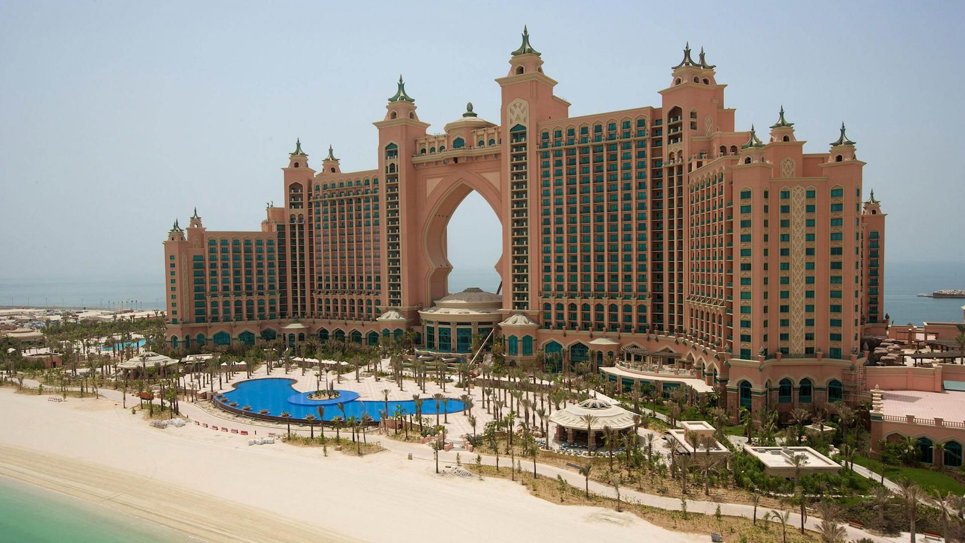 dubai hotel dubai city background hd wallpaper