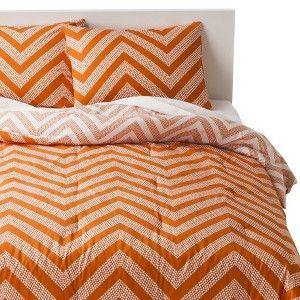 Love Everything About This But The Color.. Room Essentials® Dot Chevron Comforter  Set
