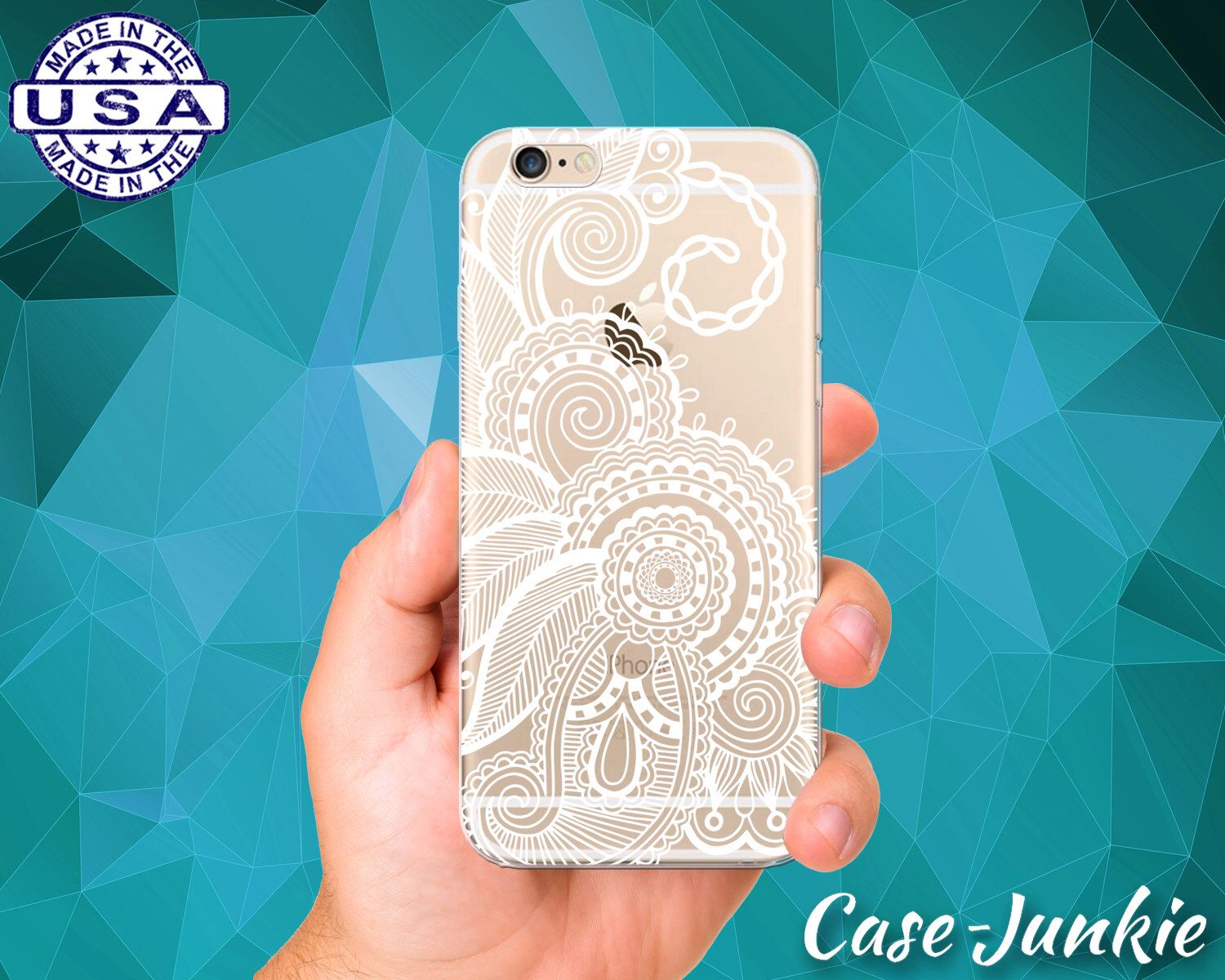 White henna design 5 five white henna designs - White Henna Flowery Tattoo Flower Design Cute Tumblr Inspired Clear Transparent Rubber Case For Iphone 5