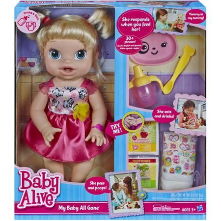 Baby Alive Clothes At Walmart Baby Alive My Baby All Gone Doll Only $2488 Walmart Black Friday