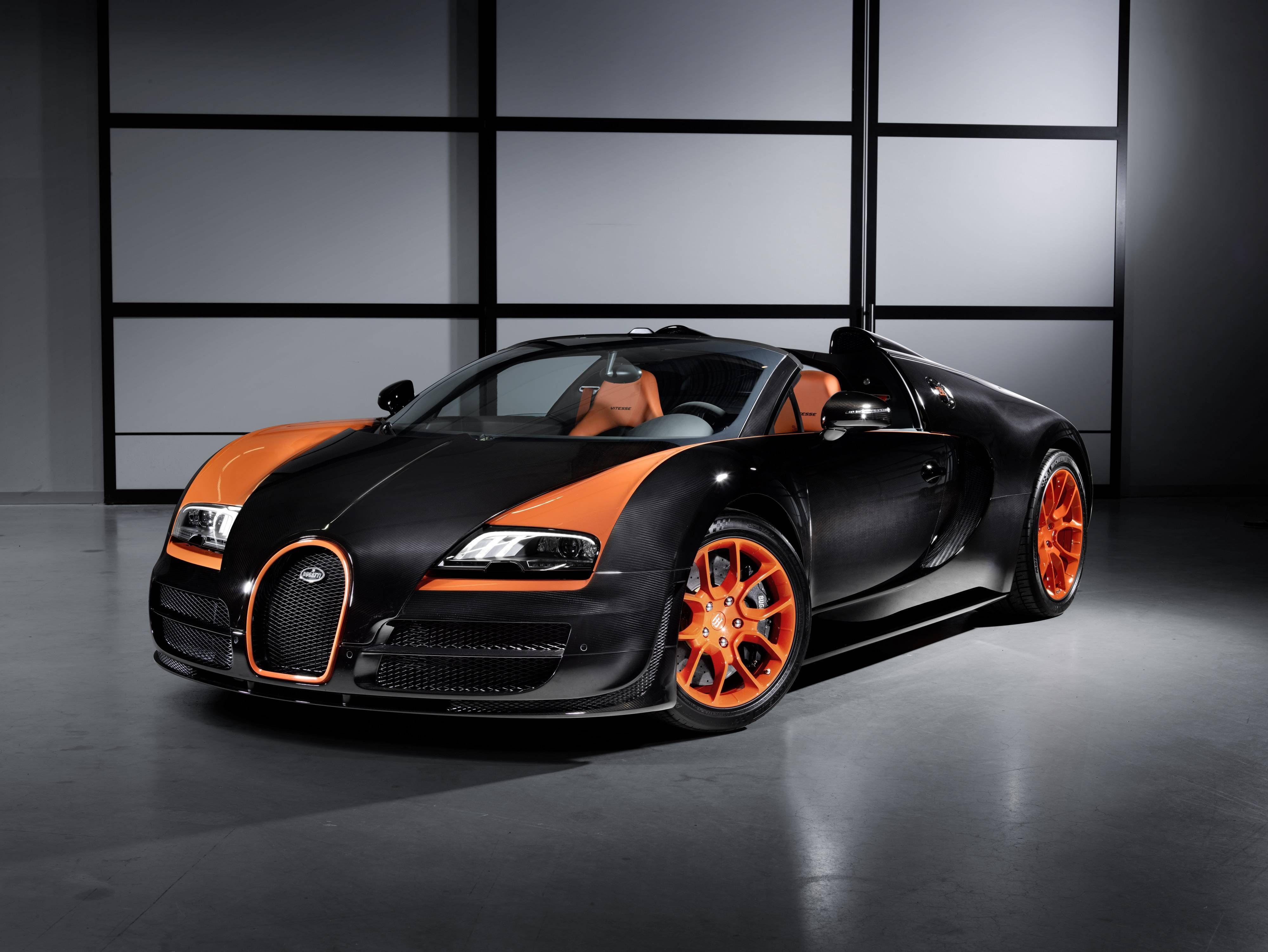 2013 Bugatti Veyron 16 4 Grand Sport Vitesse World Speed Record