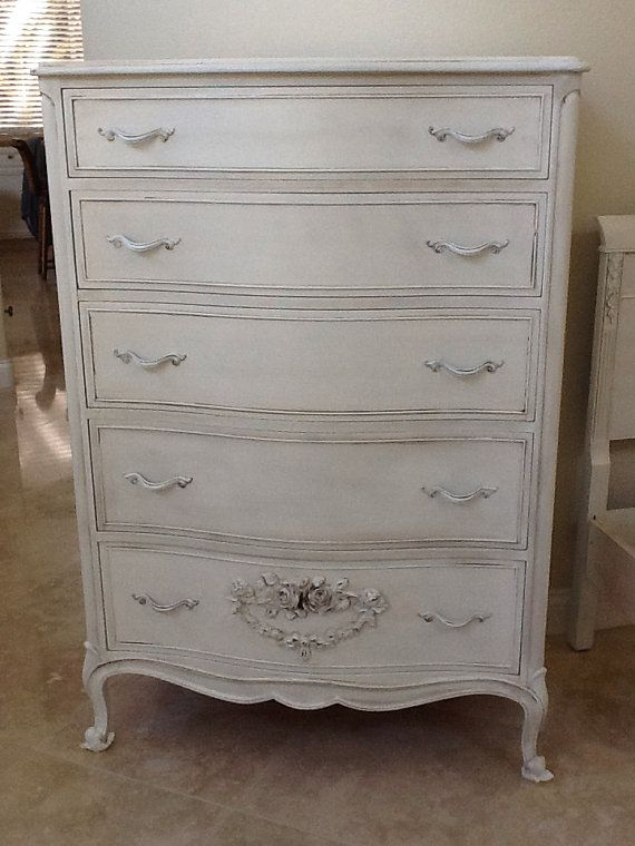 Dixie Vintage French Provincial Chest Of Drawers By SalonTiffani, $599.00