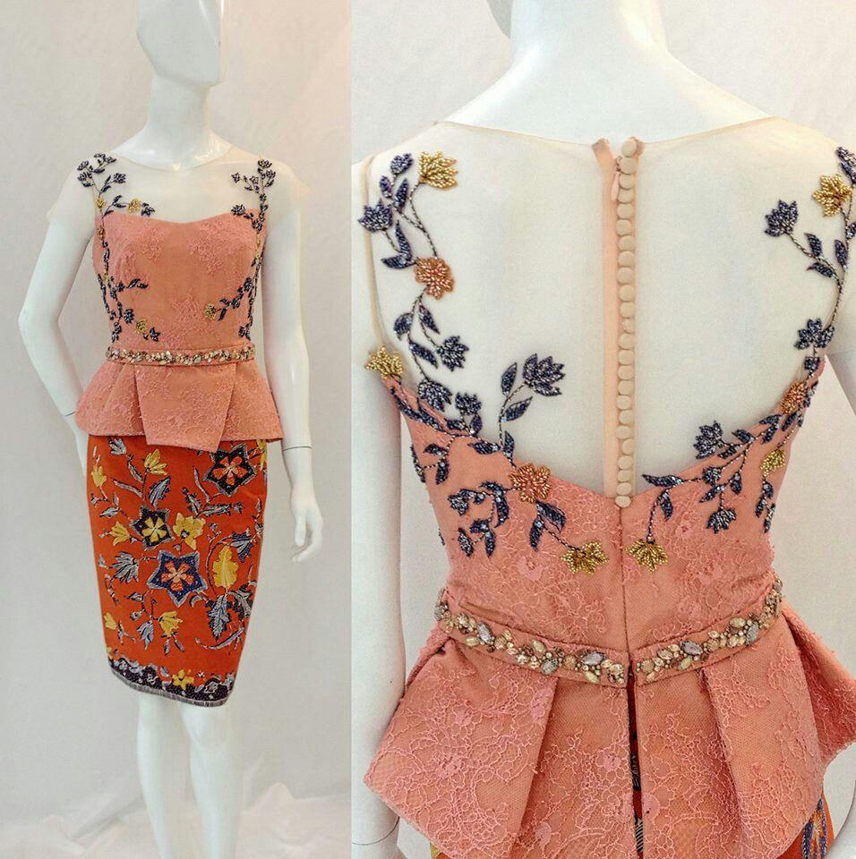 Lovely.... Inspiration For Dress #batik #kebaya #Indonesia