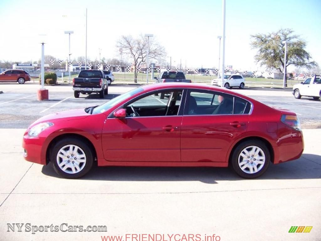 Awesome nissan altima 2013 red car images hd 2009 nissan altima 25 s in red brick