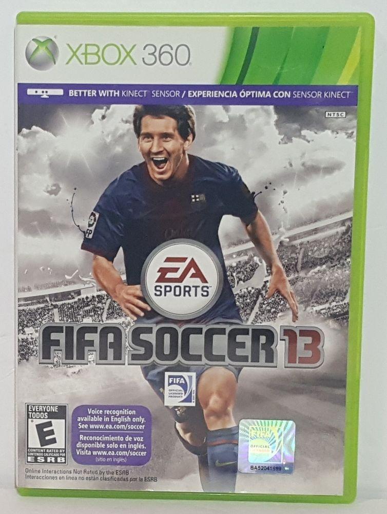 Xbox 360 Fifa Soccer 13 Xbox 360 Video Game Soccer Game Easports Xbox 360 Video Games Soccer Games Xbox 360 Fifa