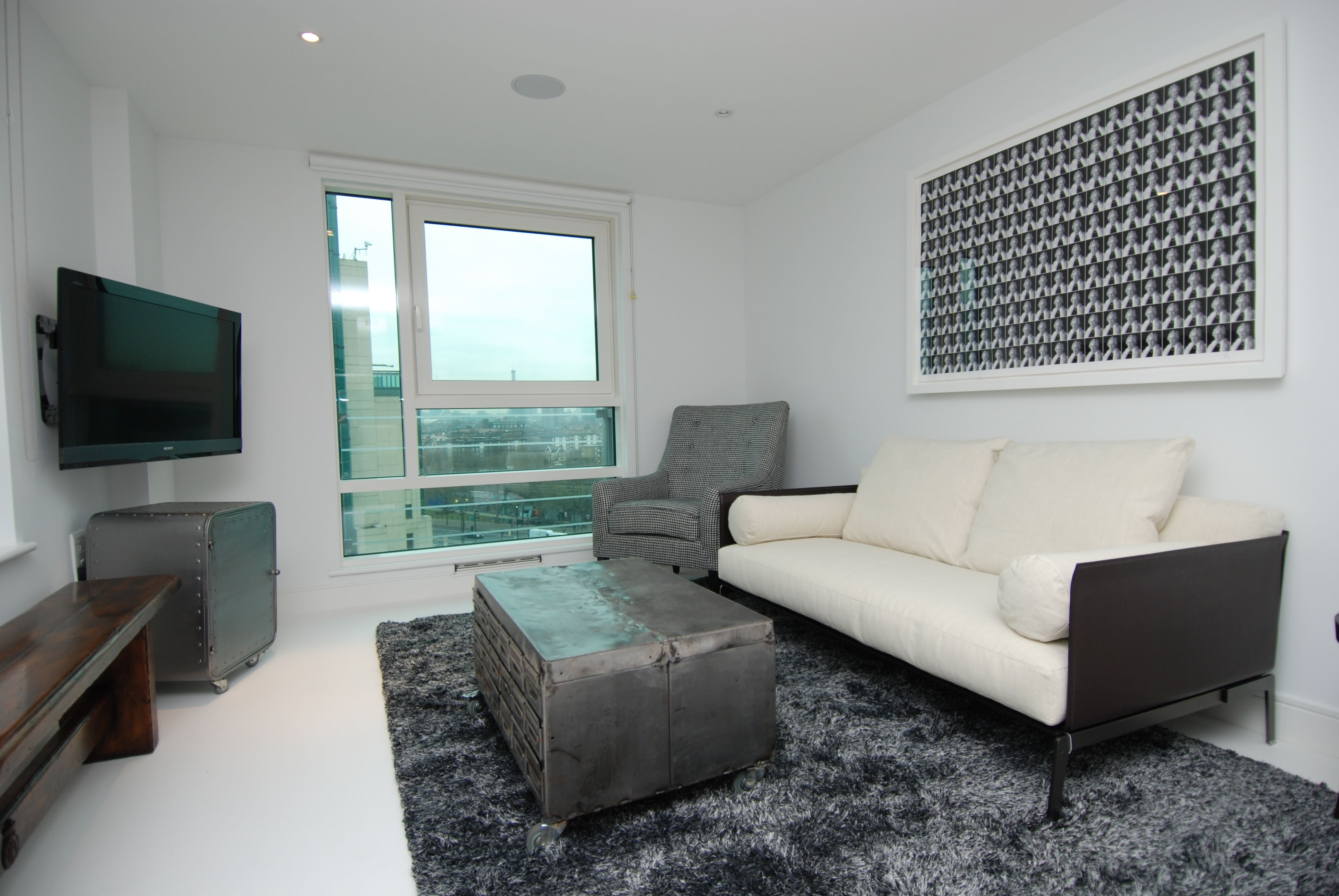 An interior designed two bed flat to purchase in vauxhall sw for