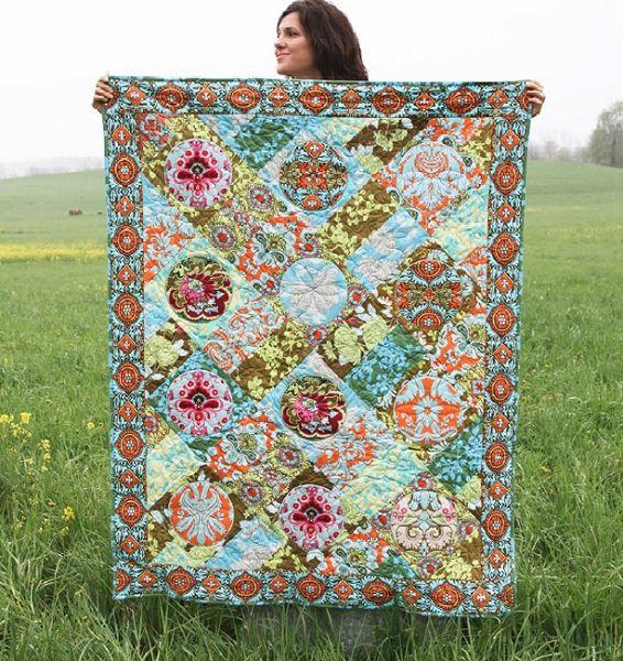 Belle Quilt Kit by Amy Butler for Westminster/Rowan | Colchas em ... : amy butler quilt kits - Adamdwight.com