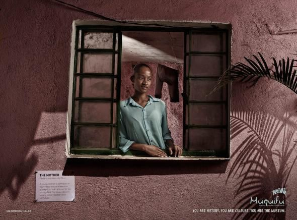 Muquifu (Museum of Urban Escaped-slave Communities and Slums): The mother   Ads of the World™
