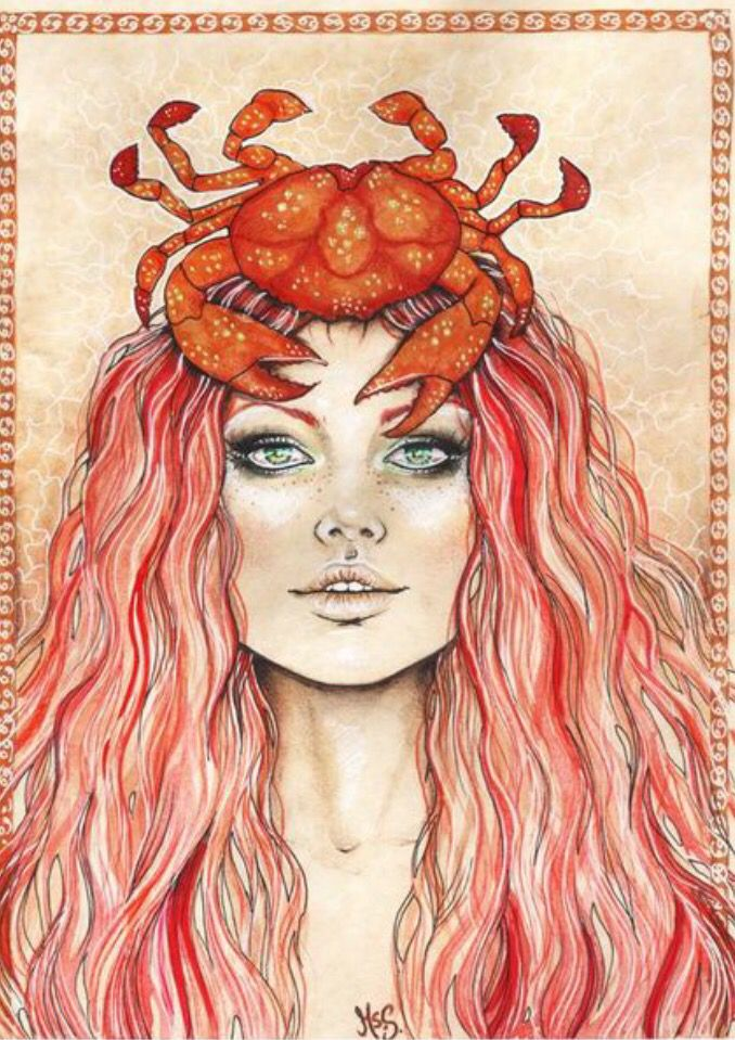 C A N C E R With Images Cancer Zodiac Art Horoscope