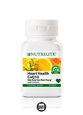 A8601 Nutrilite Heart Health Coq10 With Images Nutrilite