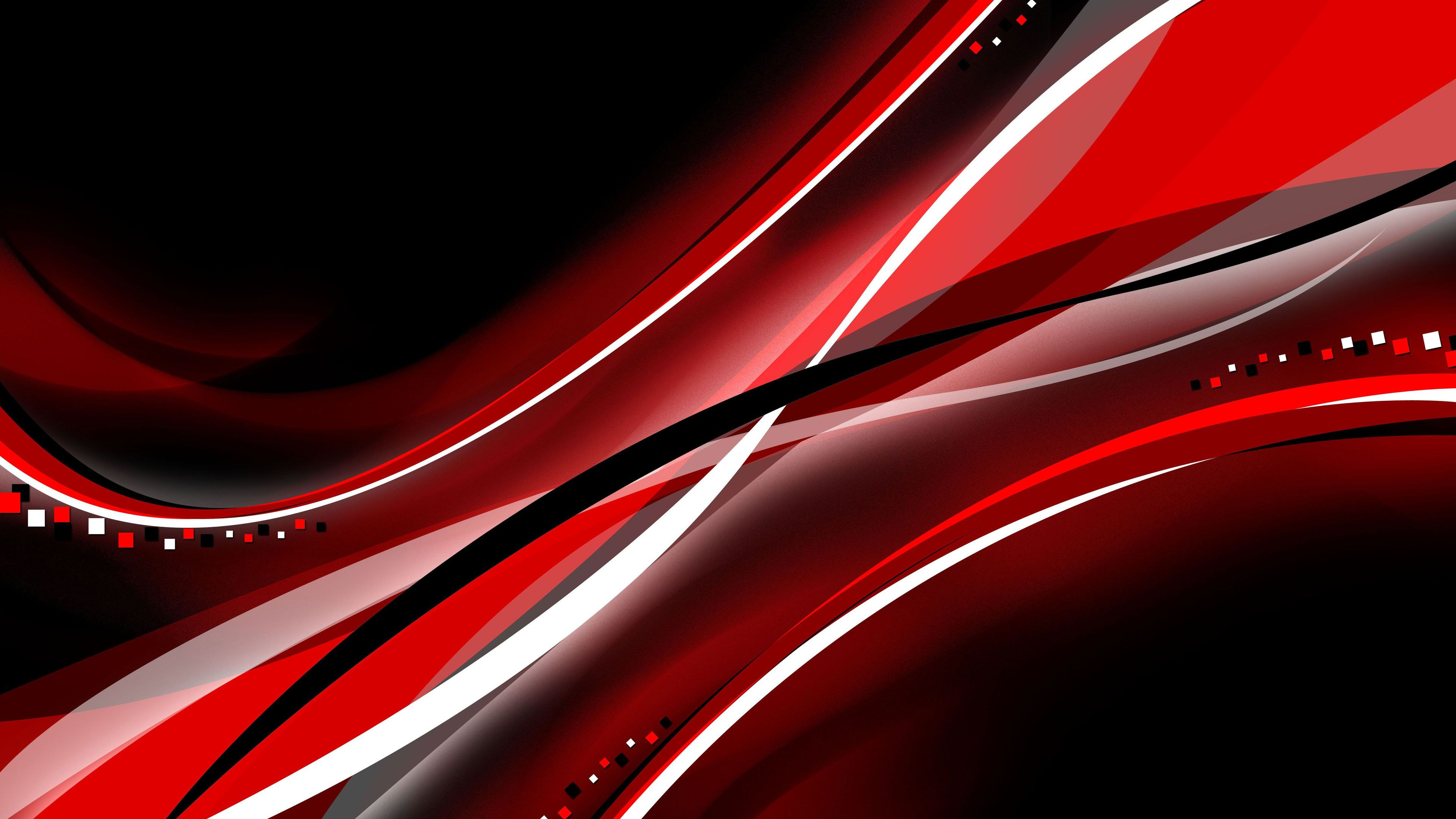 Red Black Color Interval Abstract 4k Wallpaper