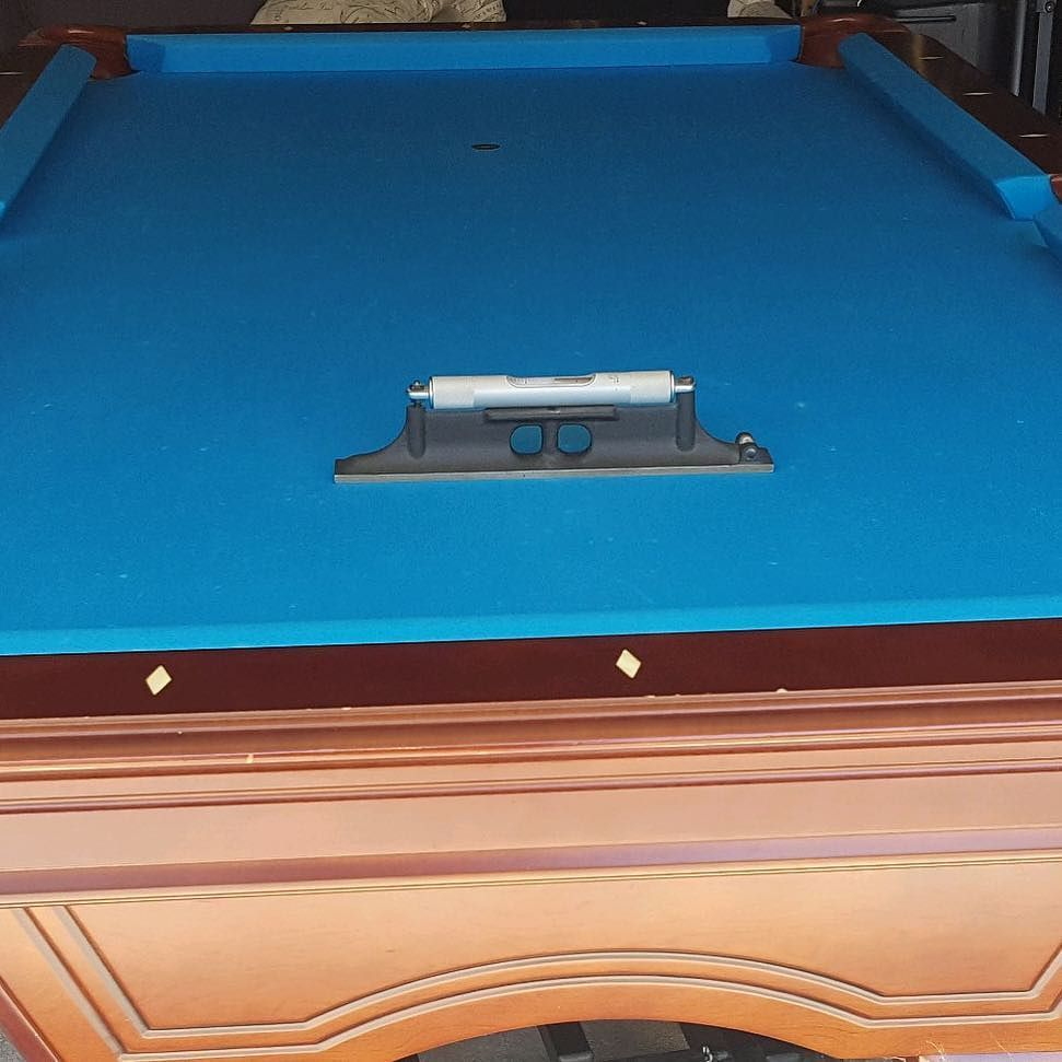 Heres A Foot Table In Long Beach Our Customer Noticed How Balls - Rolling pool table