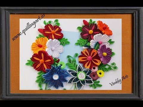 Paper Quilling How To Make A Birthday Gift Greeting Card Youtube