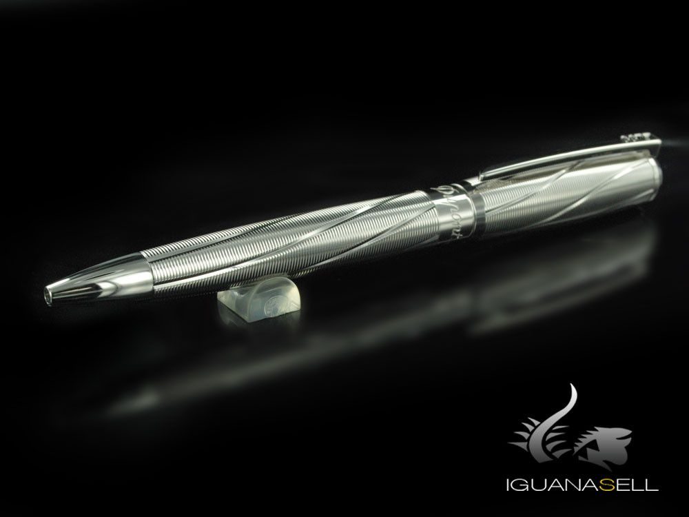 Stylo bille S.T. Dupont James Bond Spectre, Palladium, Gris, 145033 | Iguana Sell