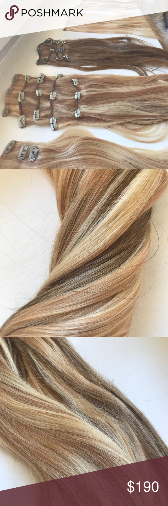 Multicolored Blonde Hairextensions Bellami Sallys My Posh Picks