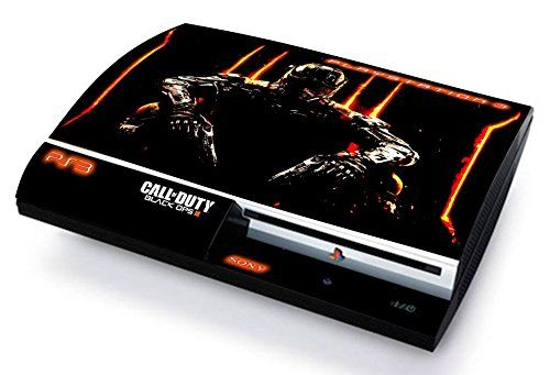 Call of duty black ops 3 skin cover ps3 fat hd limited edition decal cover adesiva