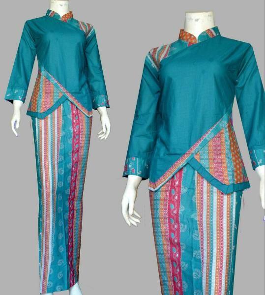Beli Promo Kebaya Batik Kartini Setelan Rok Blus Baju Wanita