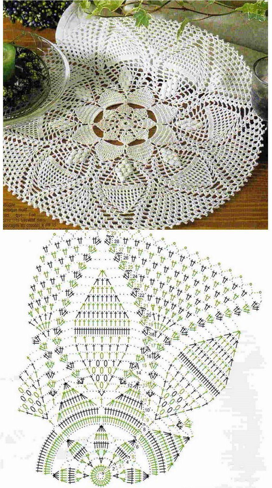 Pin von Jeannette Ulloa auf Crochet For the Home   Pinterest ...