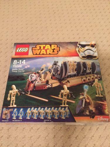 Lego star wars battle droid troop #carrier #75086 #brand new ...