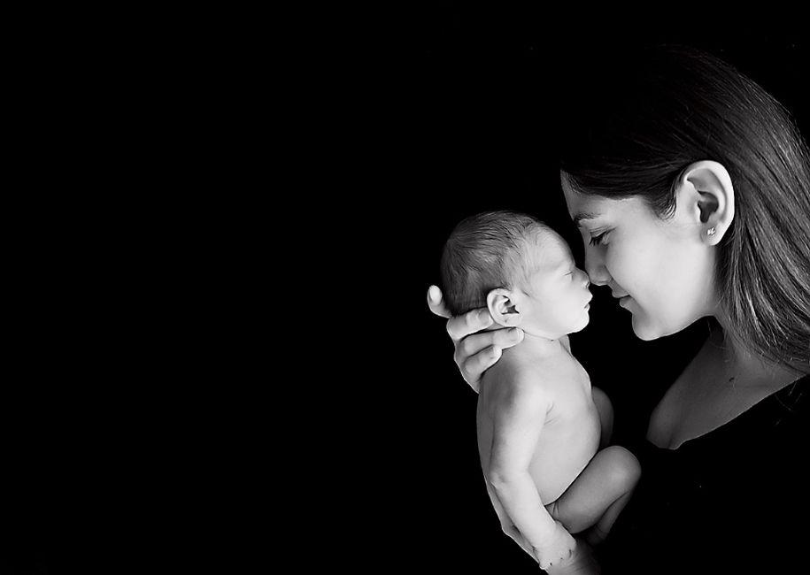 A still of cuddling creating a motherly bond