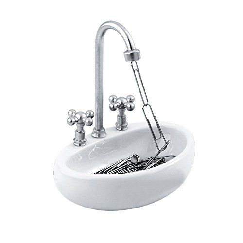 Kitchen Sink Design by Decodyne Paper Clip Holder