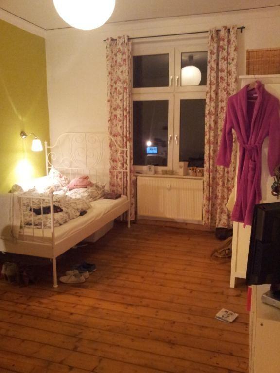 grüne Wand Wohnung, Wg gesucht, Kinder zimmer