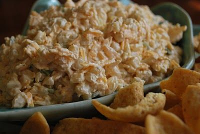 Shoepeg Corn Dip-one of my favorite dips to bring to parties!  It's delicious!