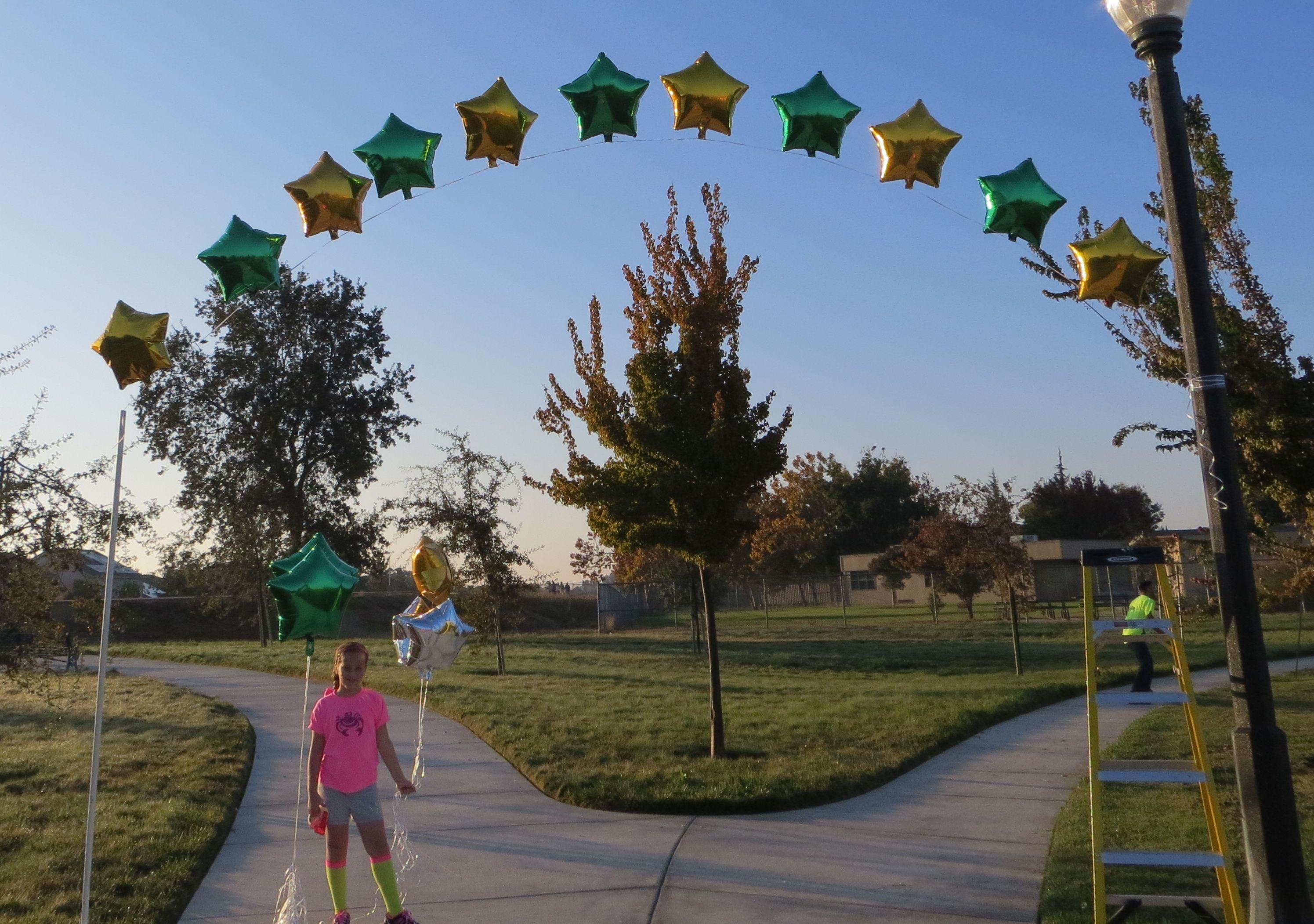 Easy Balloon Arch