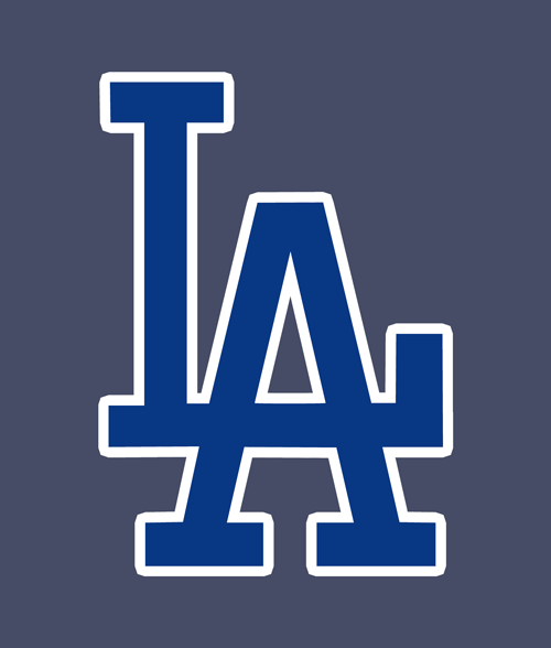 L A Los Angeles Logo T Shirt Size S M L Xl 2xl 3xl Los Angeles Logo La Dodgers Logo Los Angeles Dodgers Logo