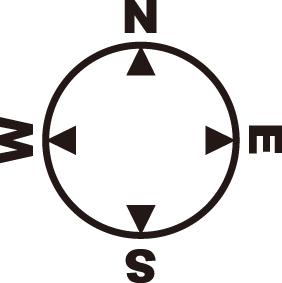 方位記号 方位マークの無料フリーダウンロードイラスト Compass Design 記号 案内図 地図