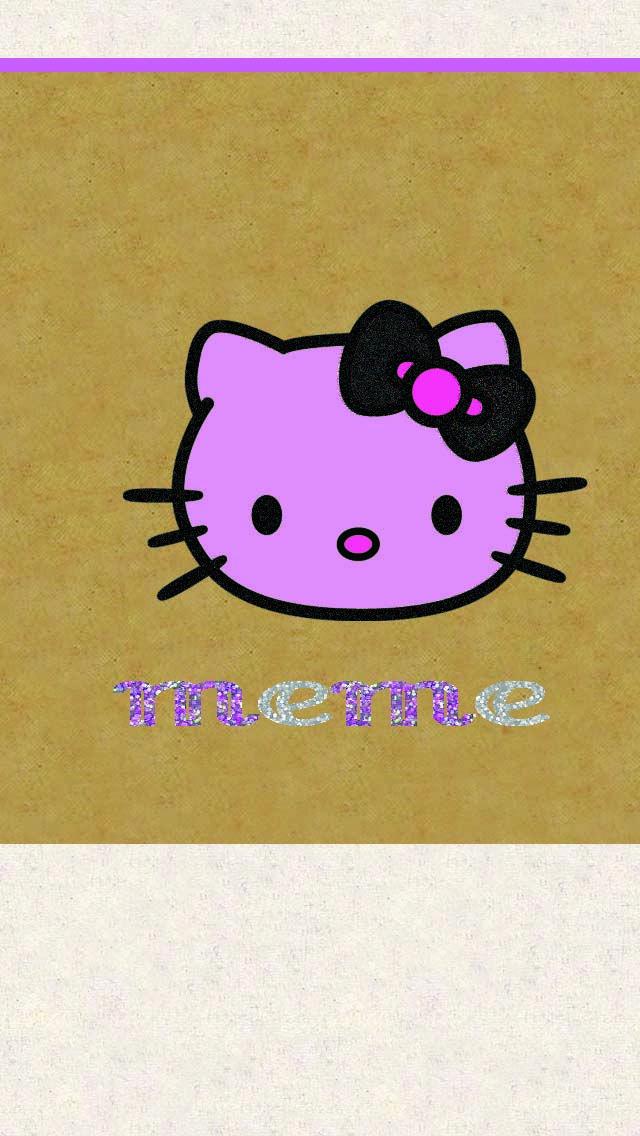 My First Edit Wallie Hello Kitty Wallpapers Pinterest Hello