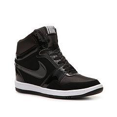 huge discount e6395 d08ae Shop Nike Force Sky High Wedge Sneaker - Womens