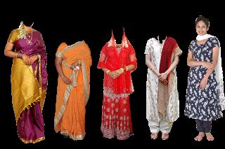All Psd For Photoshop Saree Dress For Ladies South Indian Wear For Indian Ladies Dress Indian Wedding Album Design Psd Free Photoshop