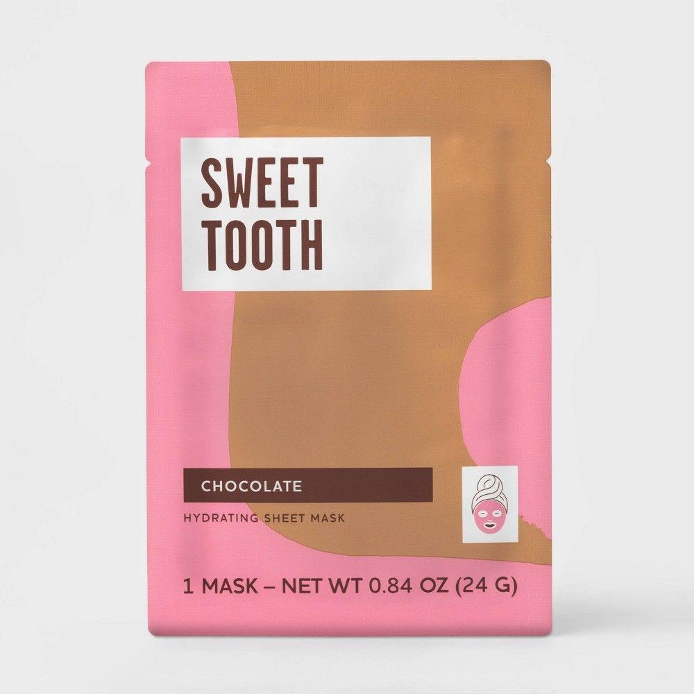 Chocolate Hydrating Sheet Mask White 0 84oz Target Beauty