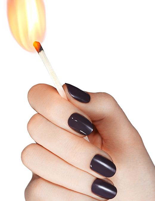 smokin\' hot - nail art by essie looks | Nails | Pinterest