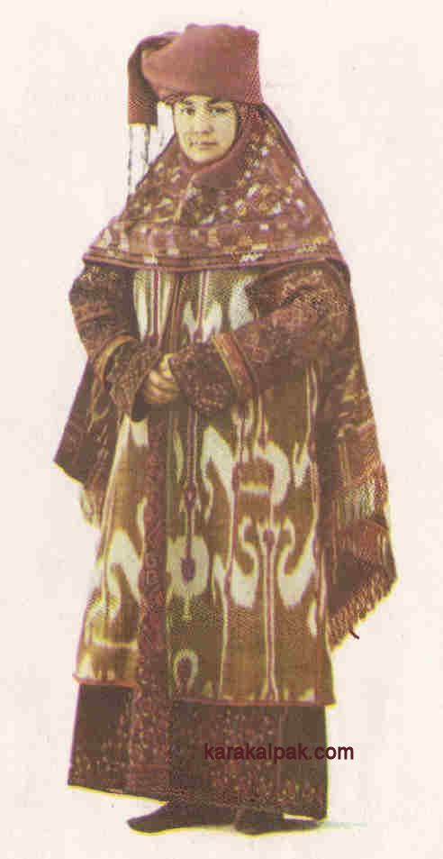 Karakalpak Female Costume