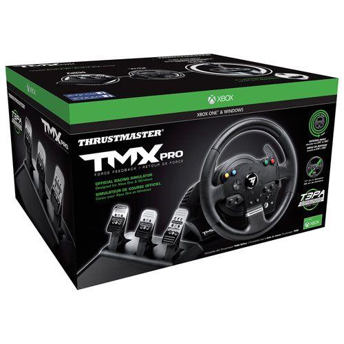 Thrustmaster tmx pro racing wheel for xbox onepc gaming room thrustmaster tmx pro racing wheel for xbox onepc publicscrutiny Choice Image