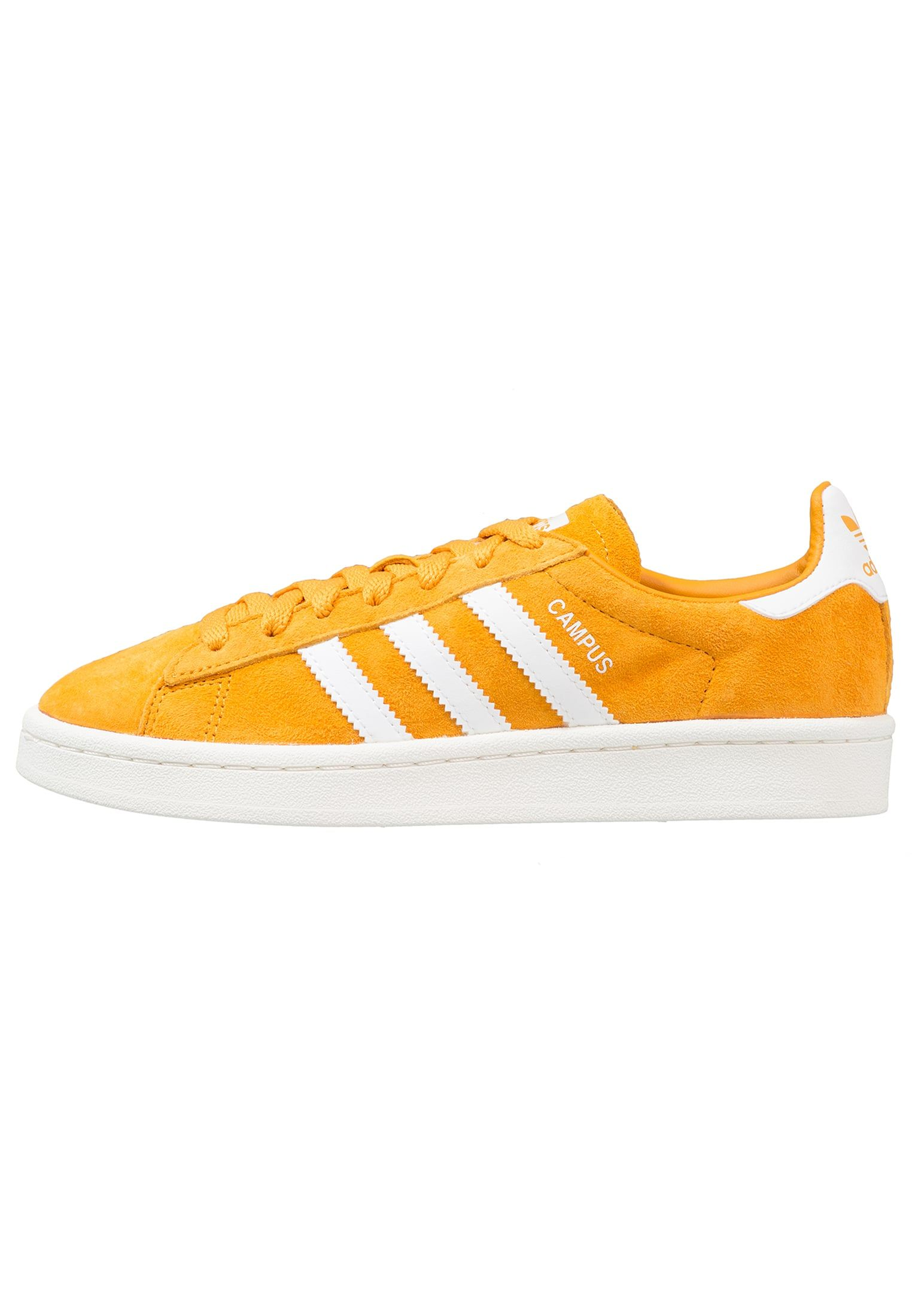 adidas Originals CAMPUS - Baskets basses - tactile yellow/footwear white/chalk  white -