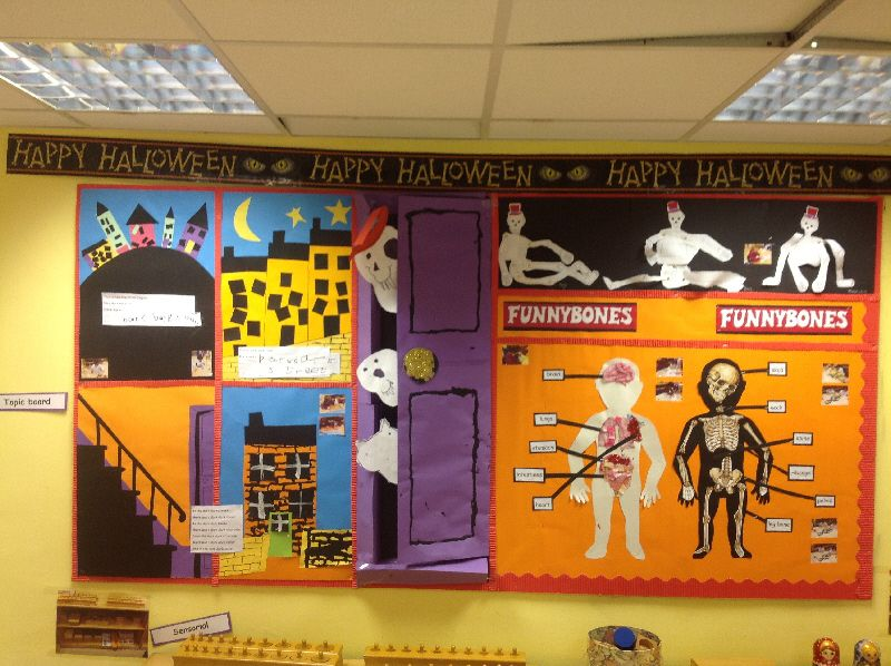 Funnybones classroom display photo - SparkleBox