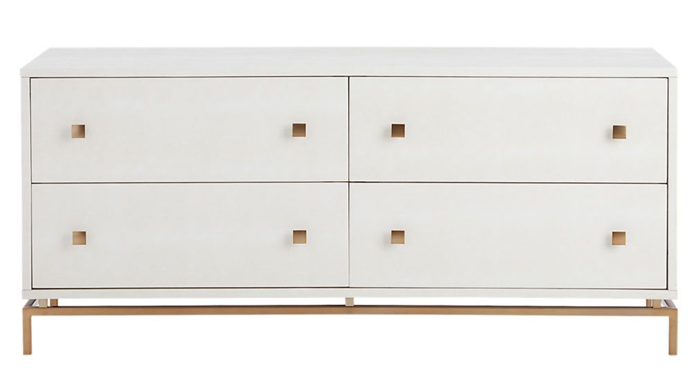 Ivory Shagreen Embossed Low Dresser Reviews Low Dresser