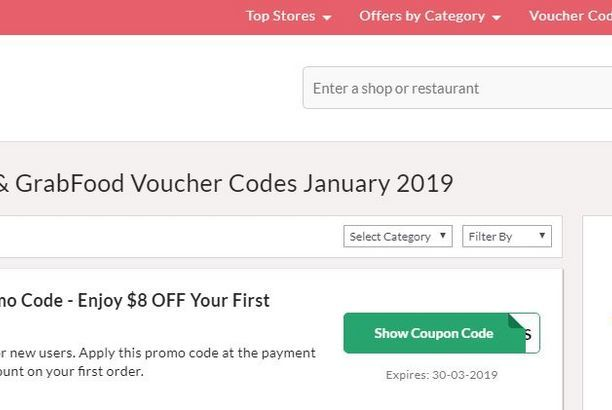 GrabFood Promo Code | collectoffers | Coding, Singapore, January
