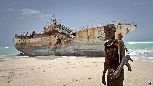Just Taking A Break Somali Pirates Somalia