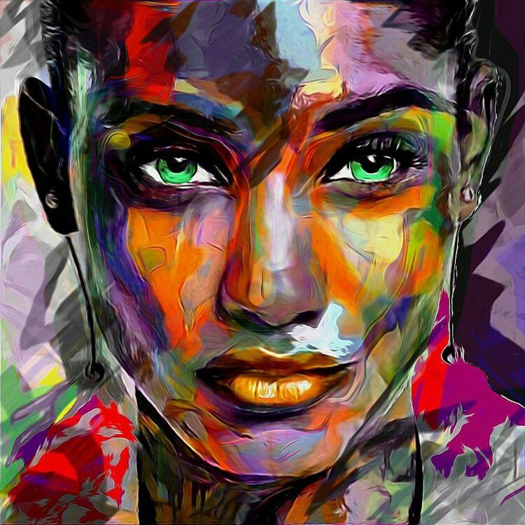 portrait 114 digital art portret pinterest digital art portraits and digital. Black Bedroom Furniture Sets. Home Design Ideas