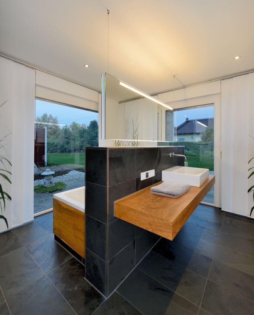 moderner bungalow von bau fritz so k nnte dein traumhaus aussehen fertighaus fertigh user. Black Bedroom Furniture Sets. Home Design Ideas