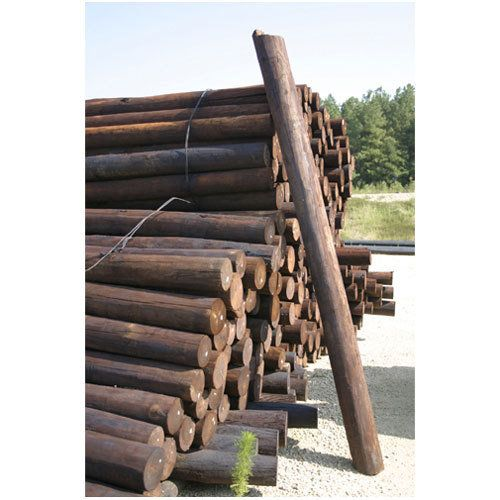 8 Creosote Fence Post Wood Post Fence Post Fence