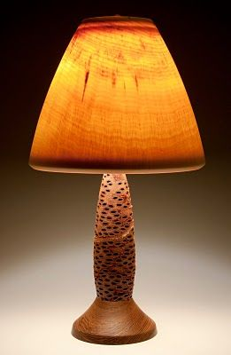 Banksia pod lamp. | Adventures in house decorating | Wood ... Wood Lathe Lamp Projects