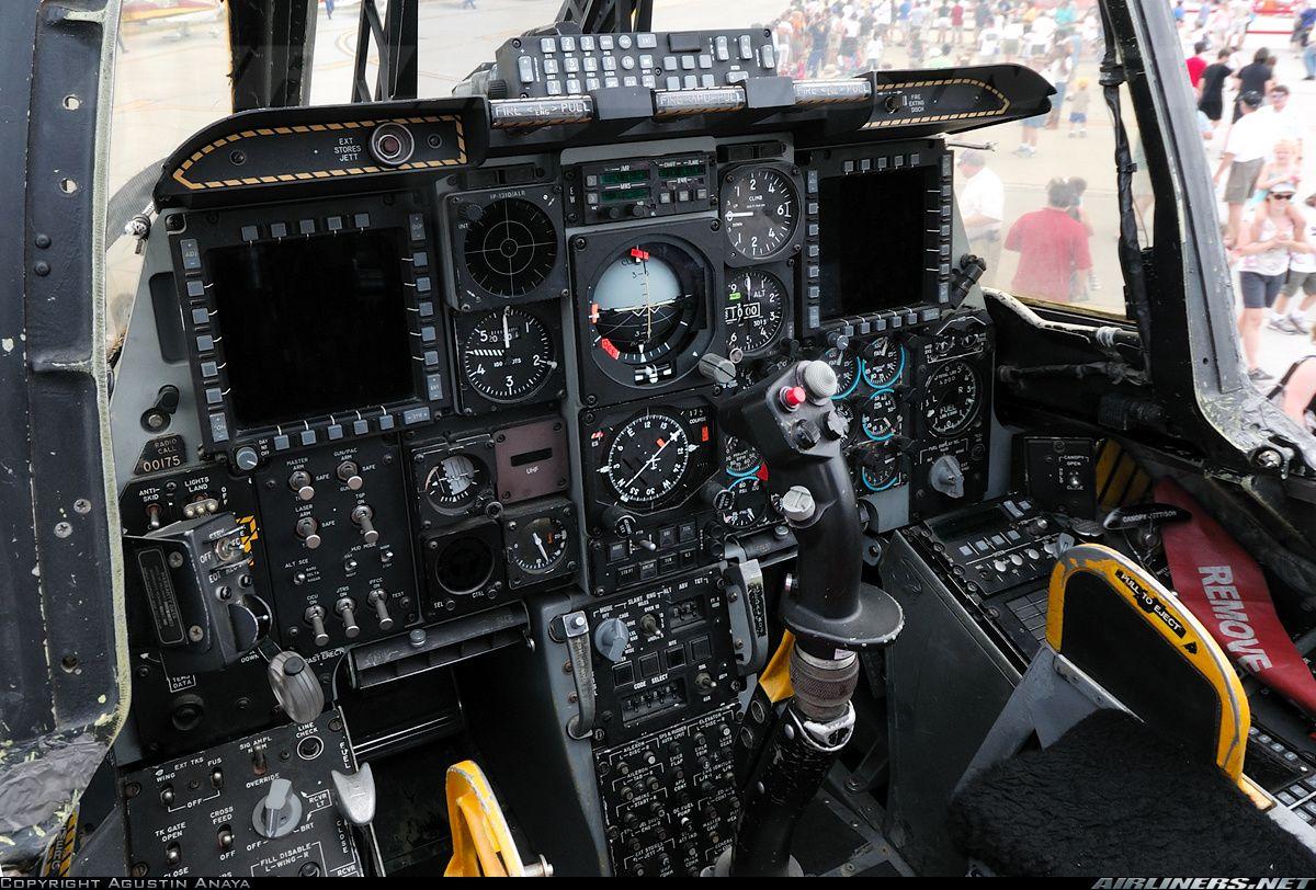Fairchild A 10c Thunderbolt Ii Cockpit Aircraft Pictures Aircraft