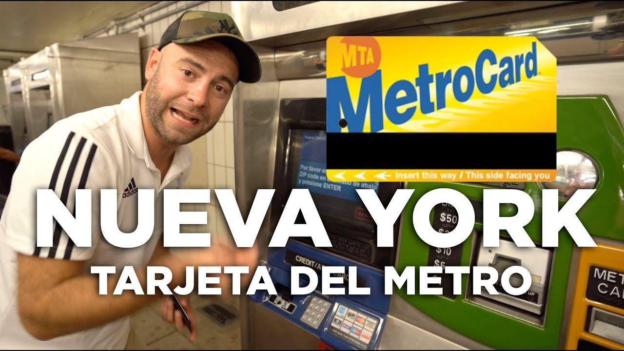 Cómo Comprar La Tarjeta Del Metro En Nueva York Molaviajar Tarjeta Nueva York Metro De Nueva York