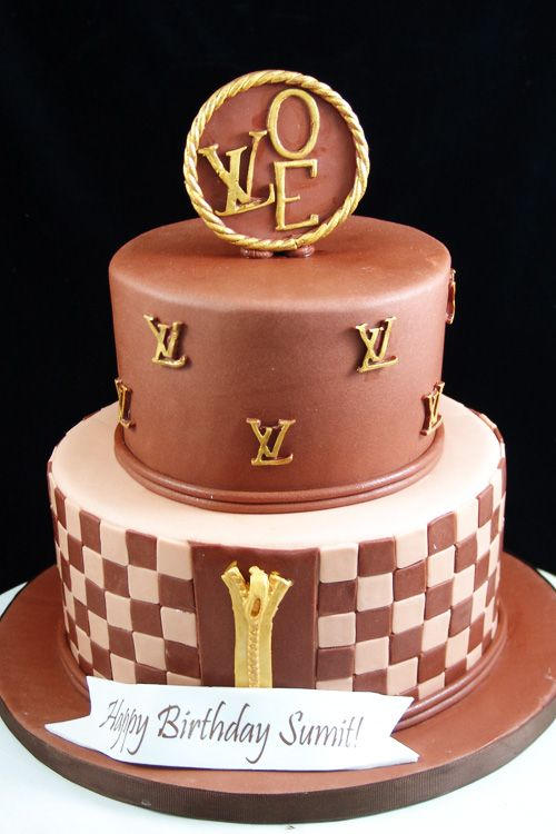 Brilliant Louis Vuitton Happy Birthday Cake City Of Kenmore Washington Personalised Birthday Cards Veneteletsinfo