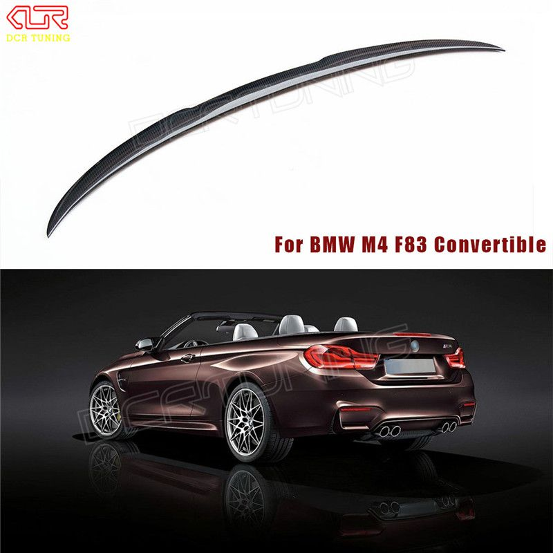 For BMW M4 Convertible F83 M4 Spoiler Carbon Fiber M
